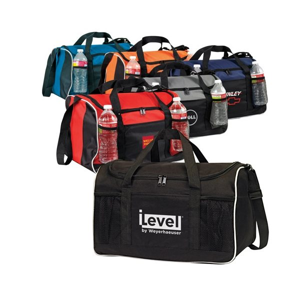 Promotional 600D Polyester Sports Duffel Bag
