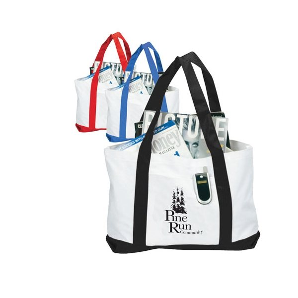 Promotional Two - Tone Boat Tote