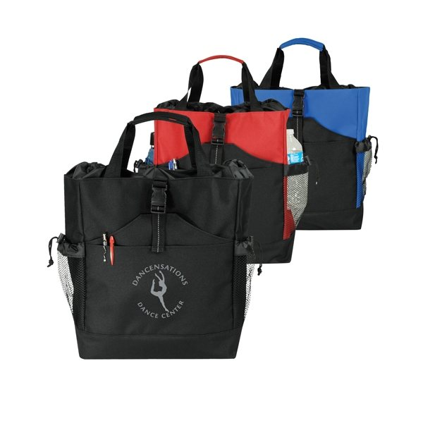 Promotional 2- Way Drawstring Tote / Backpack