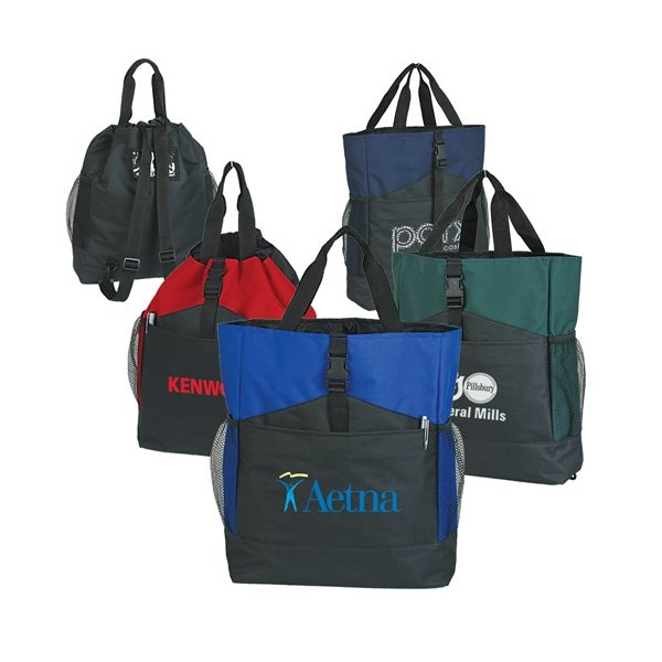 Promotional Convertible Tote / Backpack