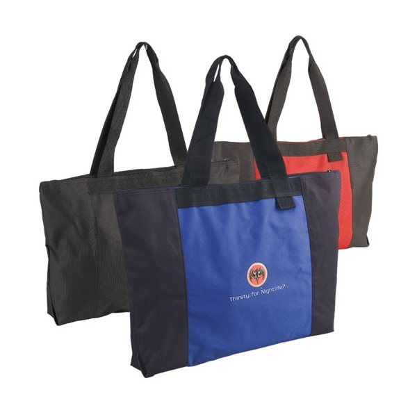 Promotional Jumbo Two - Tone Tote Bag