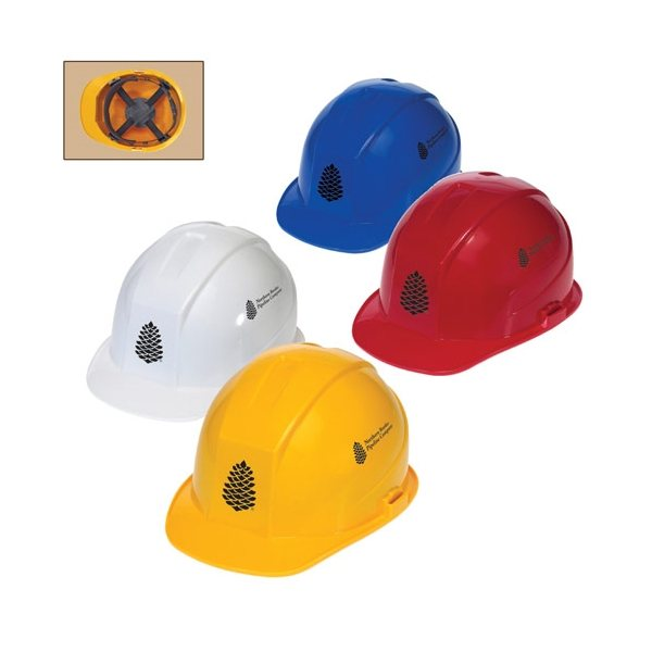 Promotional Cap Style Hard Hat with 4- Point Pinlock Suspension
