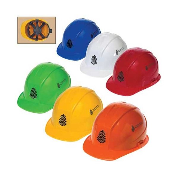 Promotional Cap Style Hard Hat with 6- Point Ratchet Suspension