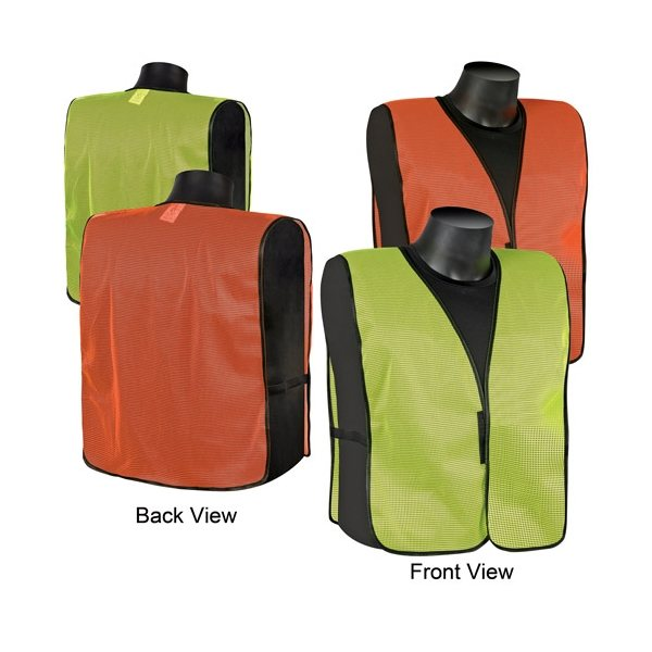 Promotional Plain mesh safety vest