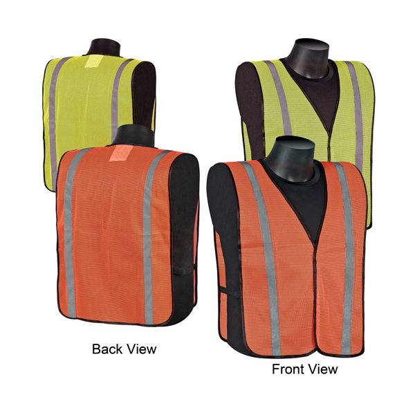 Promotional Mesh Safety Vest with Stripes