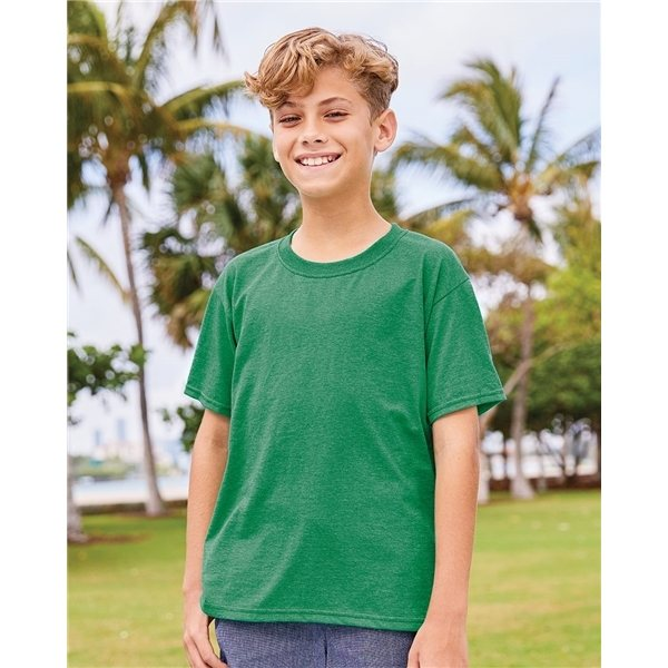 Promotional Fruit of the Loom Youth Heavy Cotton HD T - Shirt