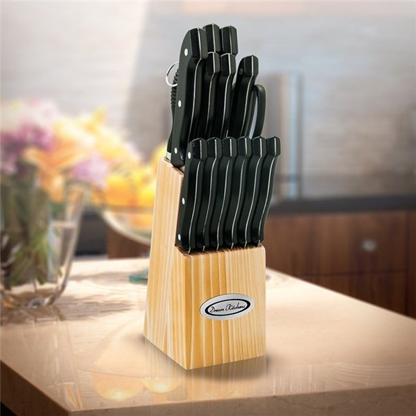 Promotional 15 Pc Knife Block Set