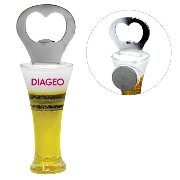 Promotional Beer Glass Bottle Opener