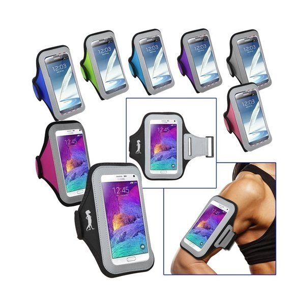 Promotional Universal Sport Armband with large Size Cellphone Pouch