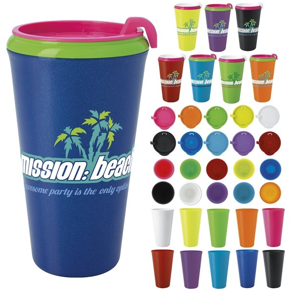 Promotional Multi - Color Infinity Tumbler 16 oz.