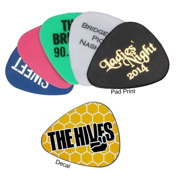 Promotional Guitar Pick