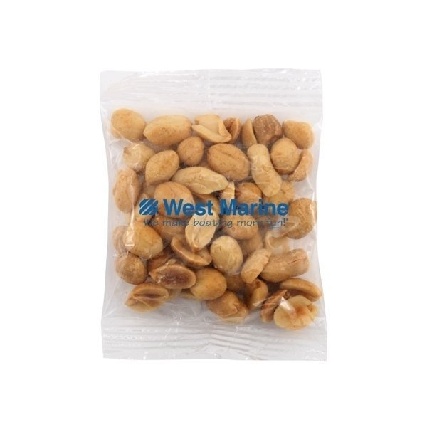 Promotional Medium Imprinted Bountiful Bag Filled with Peanuts