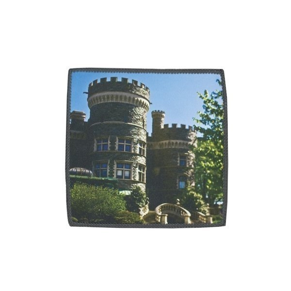 Promotional Smart 2- in -1 Microfiber Cloth Towel - Square