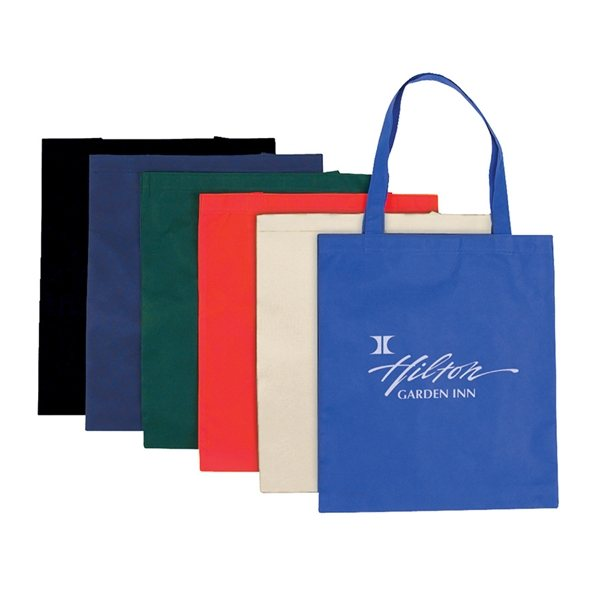 Promotional Flat Non - Woven Tote Bag