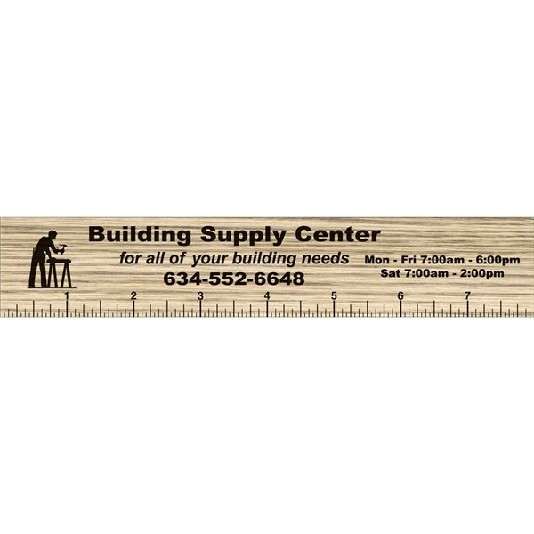 Promotional 1 12 x 8 Rectangle Magnetic Rulers