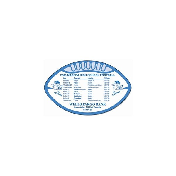 Promotional Football Magnet