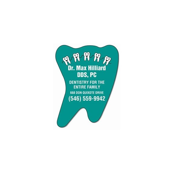 Promotional 3 7/8 x 3 Tooth Magnet