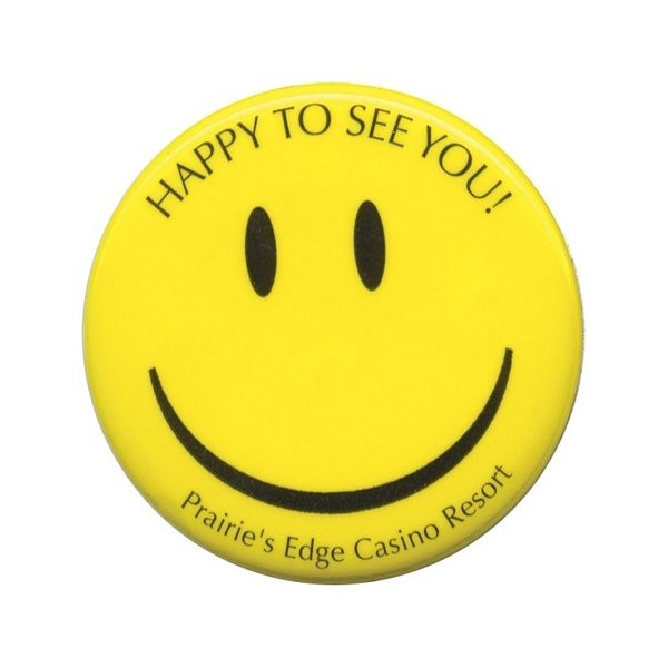 Promotional 1 1/2 Round Celluloid Button