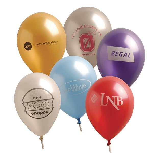 Promotional 11 Pearlized Balloons