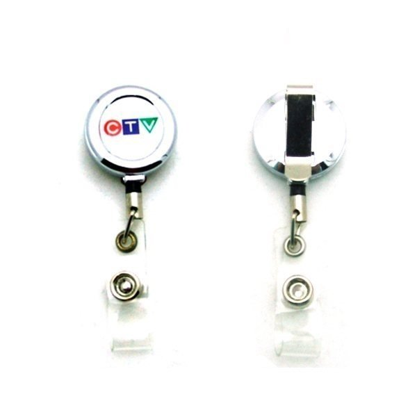 Promotional Metal Badge Reel