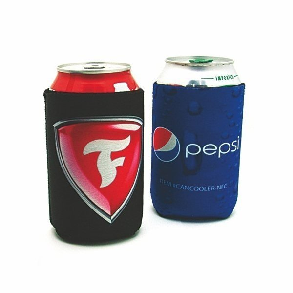 Promotional Sublimated Foam Can Cooler