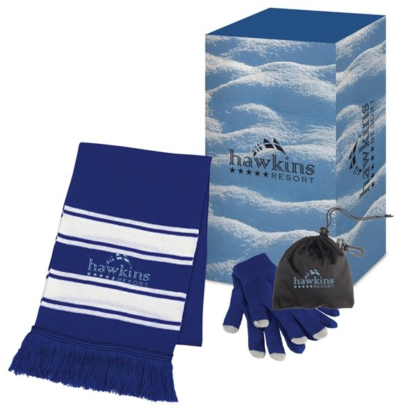 Promotional Winter Combo Set With Custom Box