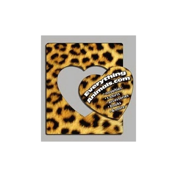 Promotional Leopard Print - Picture Frame Magnets