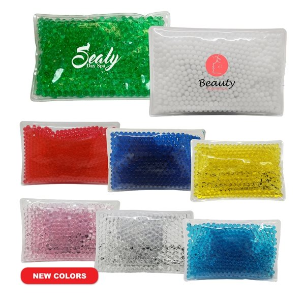 Promotional Gel Beads Hot / Cold Pack Peas
