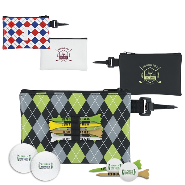 Promotional Pattern Pouch Event Kit - Callaway Warbird 2.0