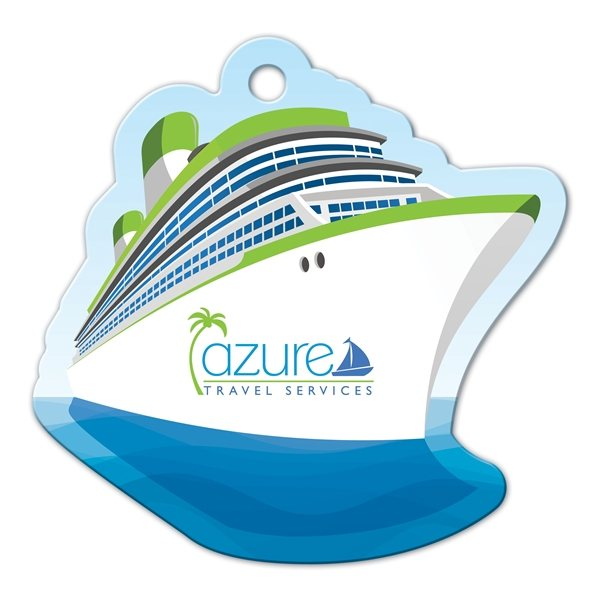 Promotional Cruise Ship Luggage Tag
