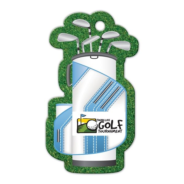 Promotional Golf Bag Luggage Tag