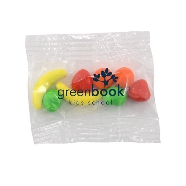 Promotional Small Imprinted Bountiful Bag Filled with Runts