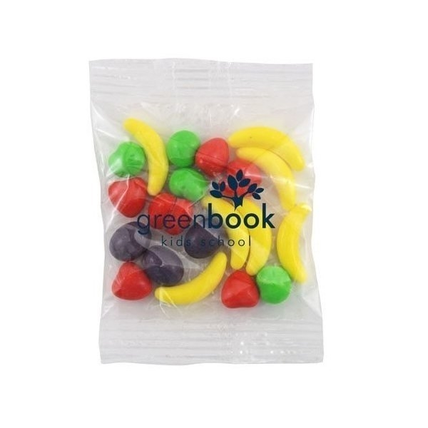 Promotional Medium Imprinted Bountiful Bag Filled with Runts