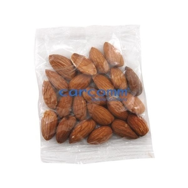 Promotional Medium Imprinted Bountiful Bag Filled with Almonds