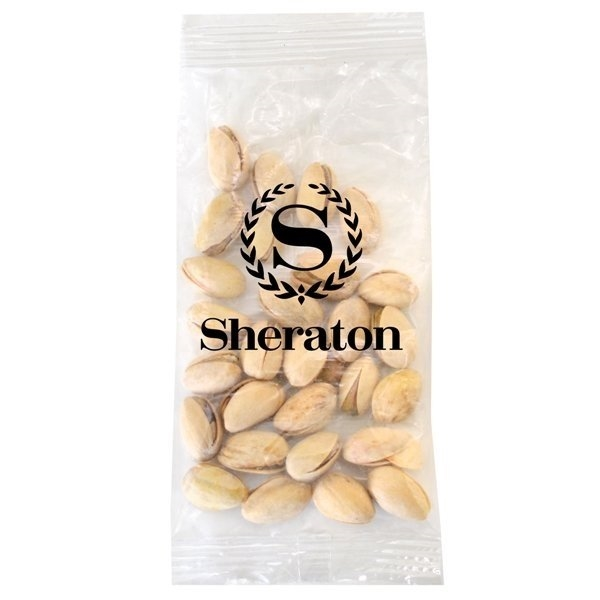Promotional Large Imprinted Bountiful Bag Filled with Pistachios