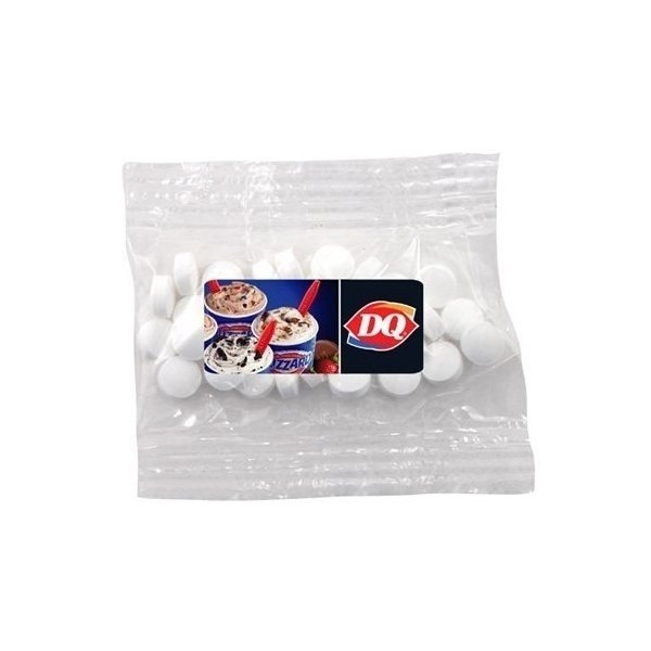 Promotional Small Labeled Bountiful Bag Filled with Mini Mints