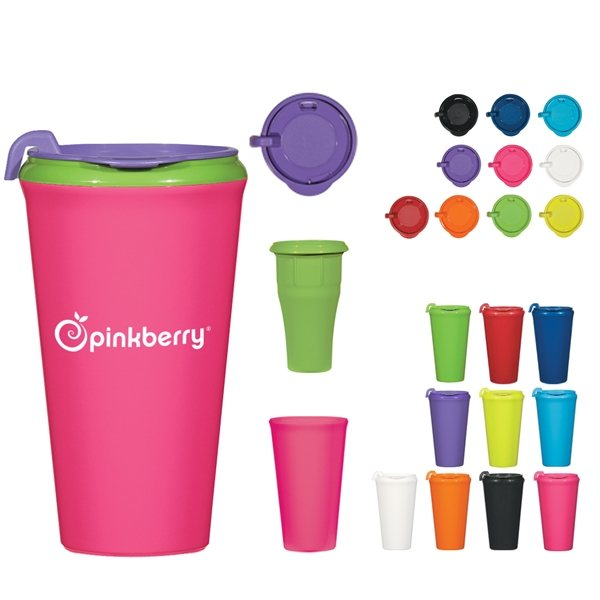 Promotional 16 oz Infinity Mix - And - Match Tumbler