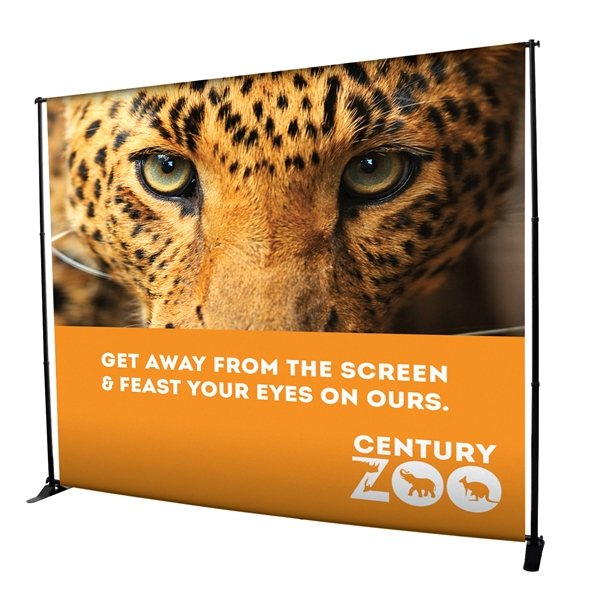 Promotional 10 Deluxe Exhibitor Expanding Backdrop Display Kit
