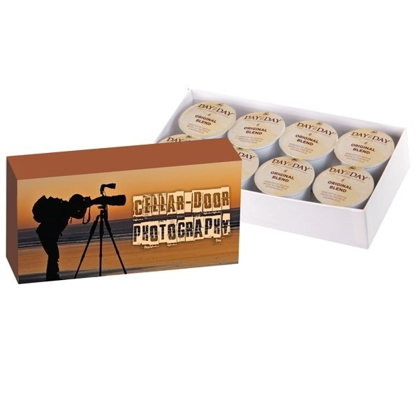Promotional Custom Coffee Box 8- Pack