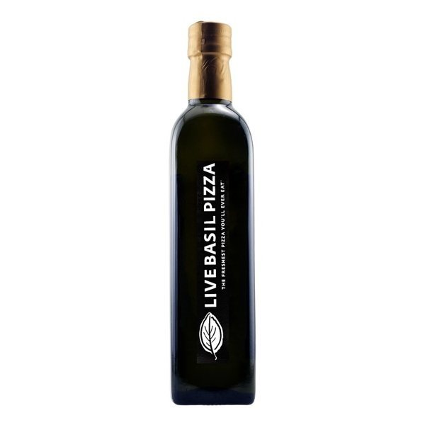 Promotional Etched Colle Monacesco Extra Virgin Olive Oil with 1 Color Fill