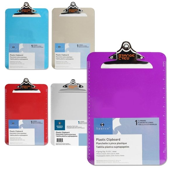 Promotional Transparent Clipboard