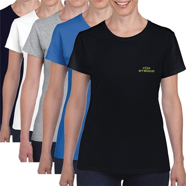 Promotional Gildan(R) Heavy Cotton(TM) Ladies T - Shirt - 5.3 Oz - 5000L