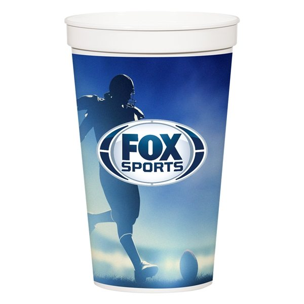 Promotional 32 oz Full Color Stadium Cup