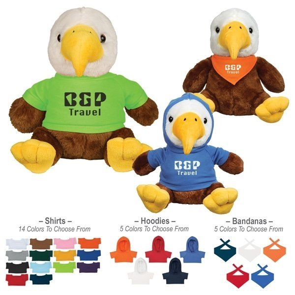 Promotional 8 Liberty Eagle With Shirt