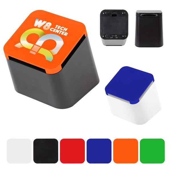 Promotional Slanted Cube Wireless Speaker
