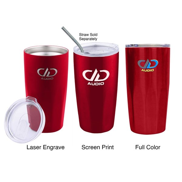 Promotional 20 oz Stainless Steel Copper Plated Tumbler