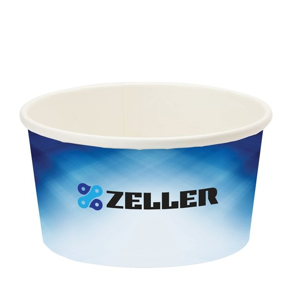 Promotional Prka(R) 8 oz Snack / Ice Cream Paper Cup