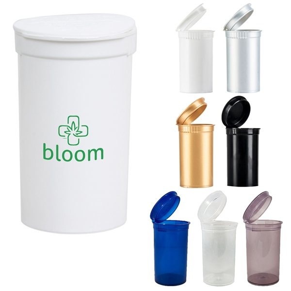 Promotional Pop Top Container (19 Dram)