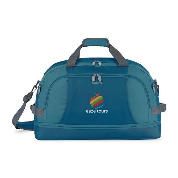4eff0f88174 American Tourister® Voyager Travel Bag - Tidal Blue - Swags Sports ...