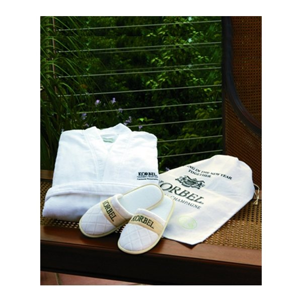 Promotional Robe, Slippers Gift Set